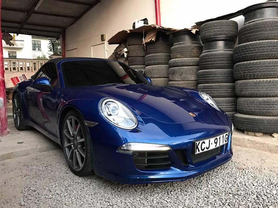 2013 PORSCHE 911S 3.8 Convertible Coupe