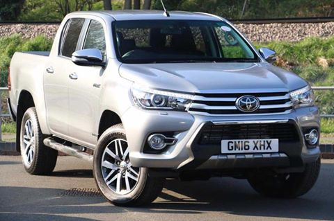2016 Toyota Hilux Invisible D Cab Auto Diesel