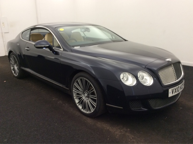 2010 BENTLEY CONTINENTAL GT 6.0 W12 SPEED Coupe