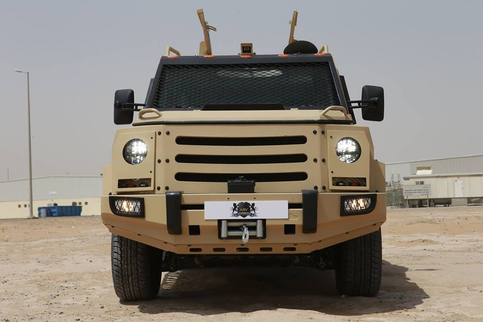 Armoured Personnel Carrier ( APC )