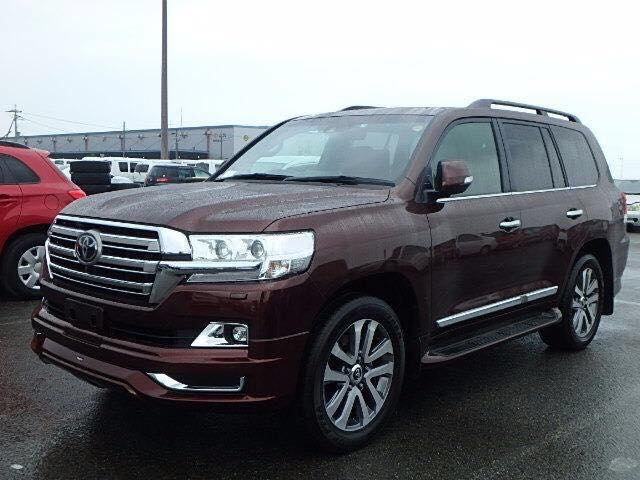 2017 Toyota Land Cruiser ZX Full Option Auto Petrol