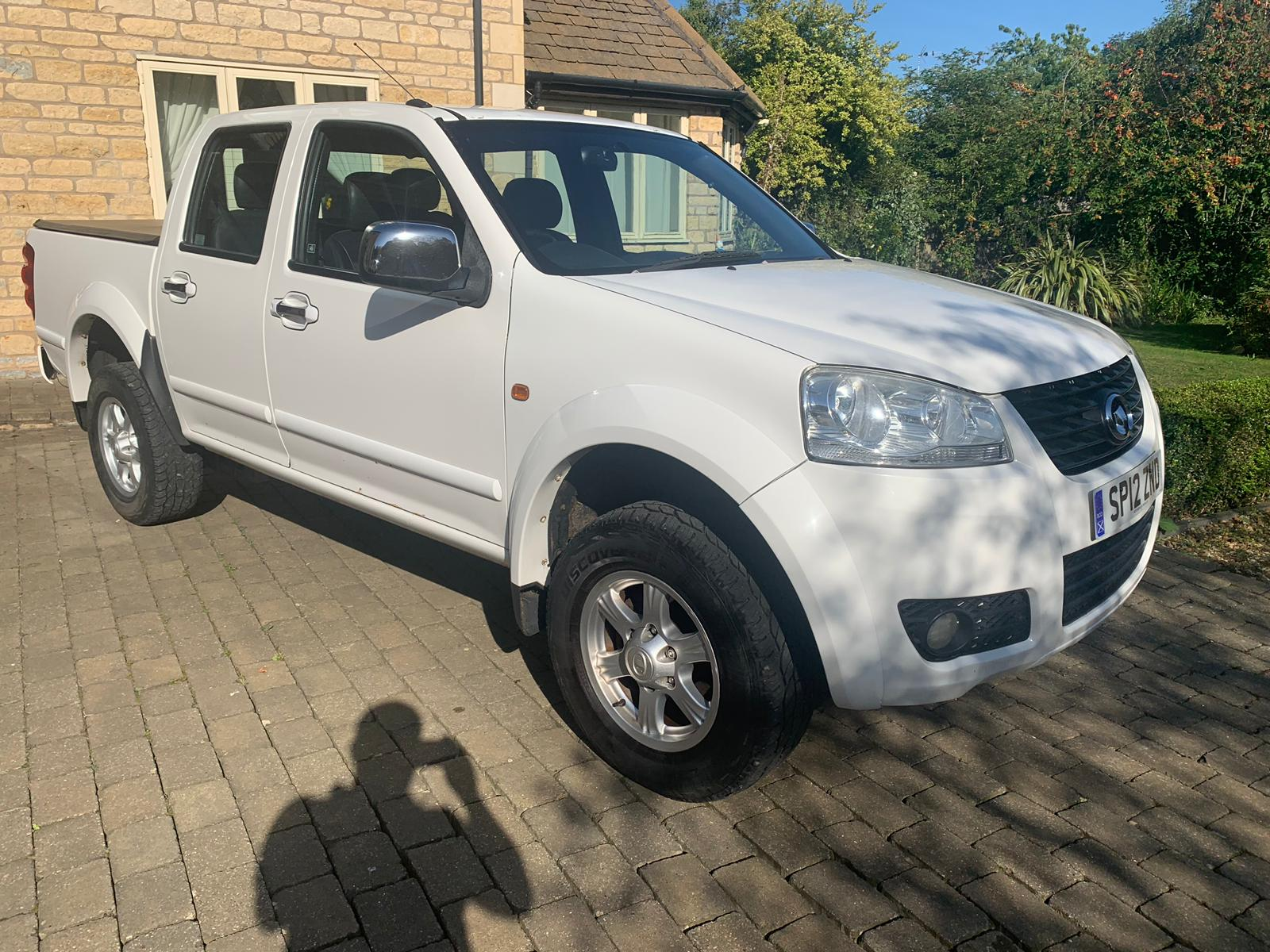 2012 Great Wall Steed Double Cab Pick up 2000cc Turbo Diesel manual